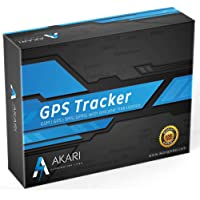 Akari Gt02A GPS Tracker Device for Car/Bike/Truck/Scooty Real Time Tracking with Mobile APP