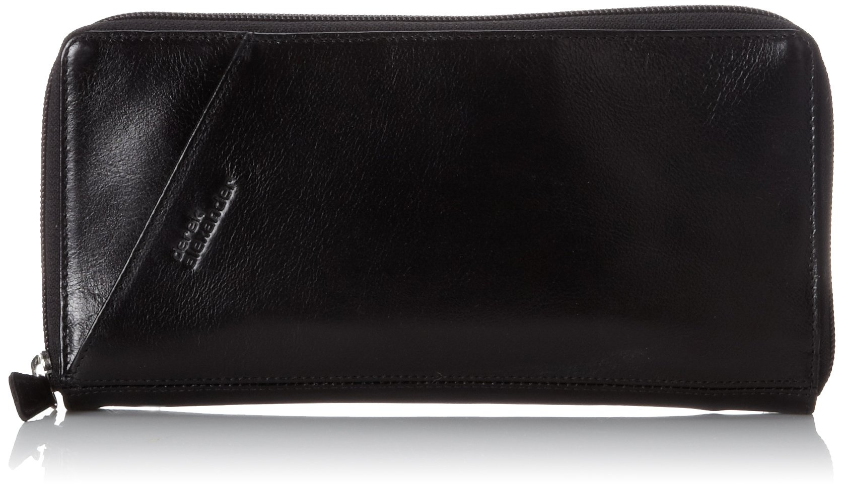Derek Alexander Passport Travel Wallet, Black, One Size