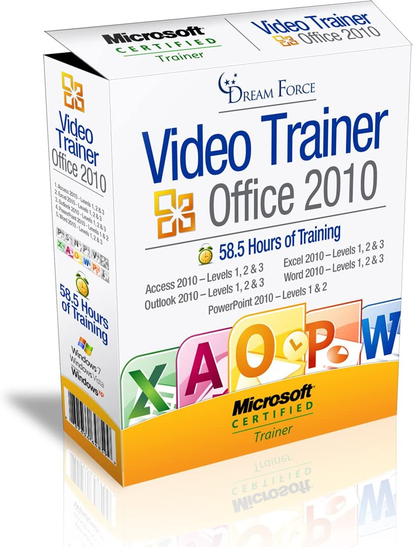 Office 2010 Training Videos – 58.5 Hours of Office 2010 training by Microsoft Office: Specialist, Expert and Master, and Microsoft Certified Trainer (MCT), Kirt Kershaw
