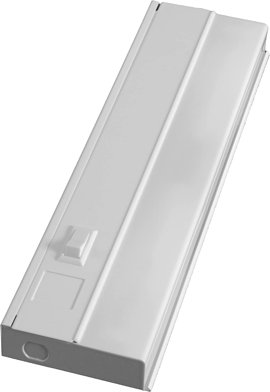 Contemporary Direct Wire Fluorescent Closet Light Ensign