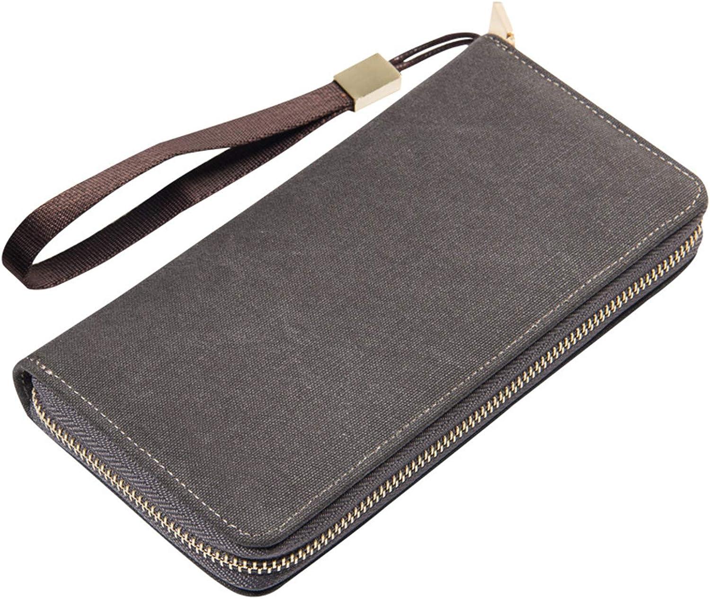 Trendy Men Clutch Wallet 2...