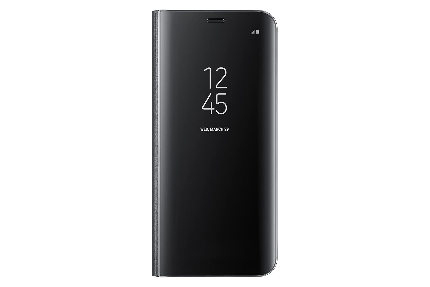 timeless design 27b78 e260c Samsung Galaxy S8 S-View Flip Cover with Kickstand, Black