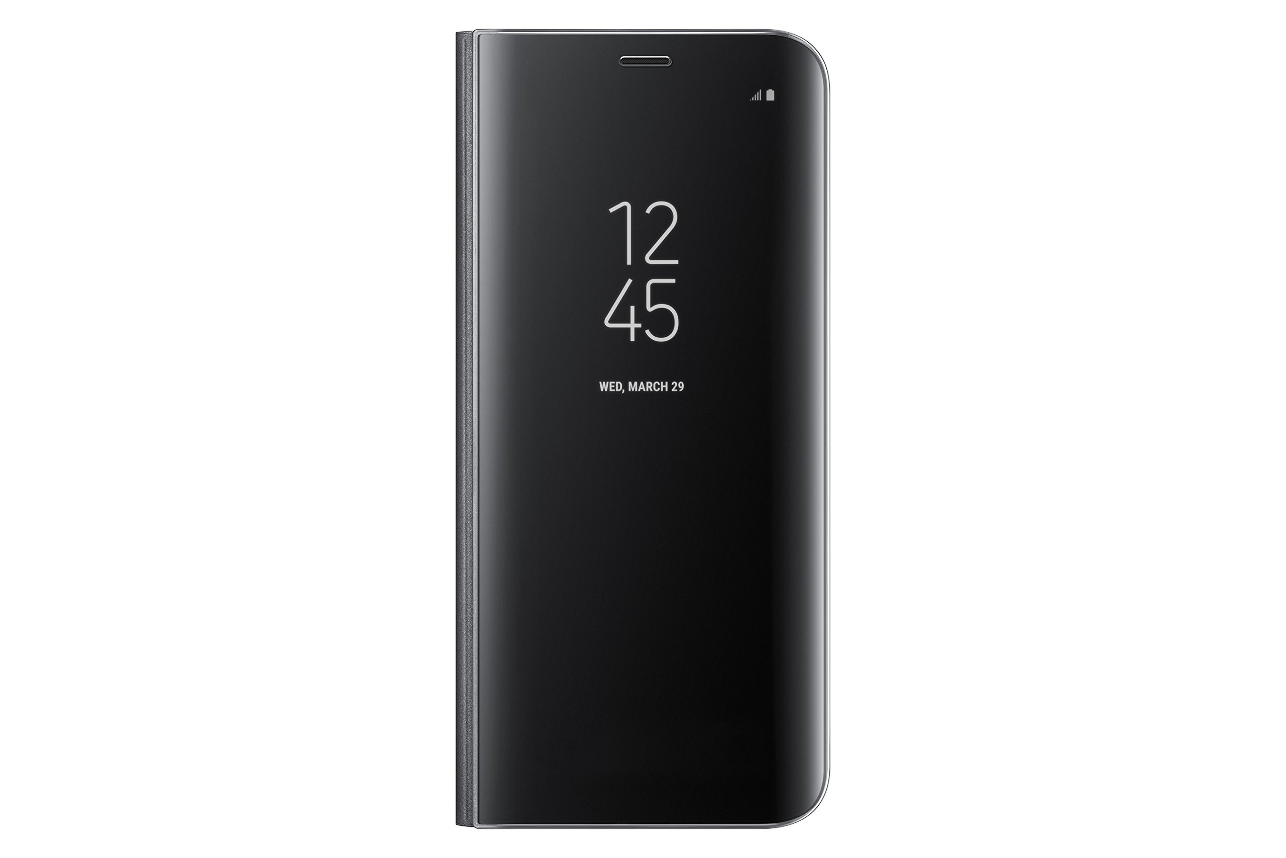 Samsung Galaxy S8 S-View Flip Cover with Kickstand, Black by Samsung