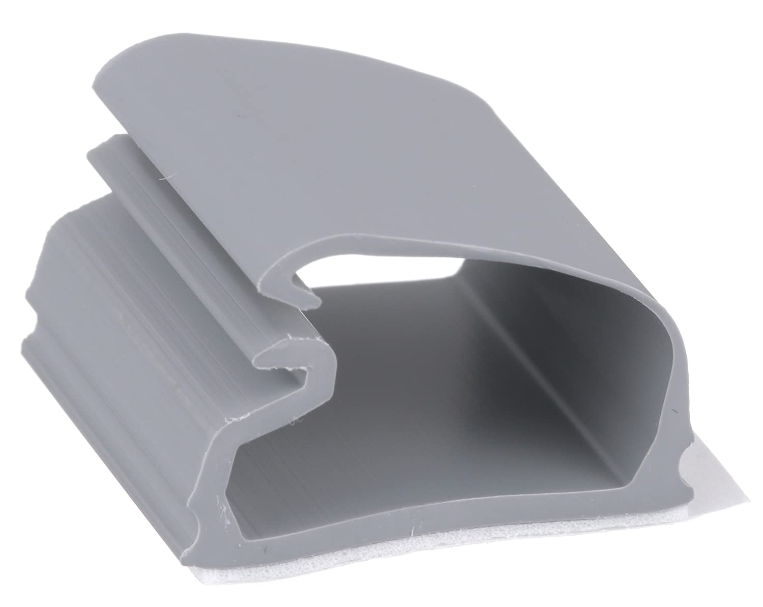0.36-Inch Bundle Panduit LC5-A-C8 Latching Clip 100-Pack Light Gray PVC Adhesive Backed