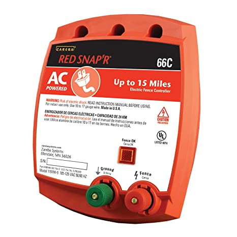 Amazon Zareba Red Snapr 66c Ac Powered Solid State 15 Mile
