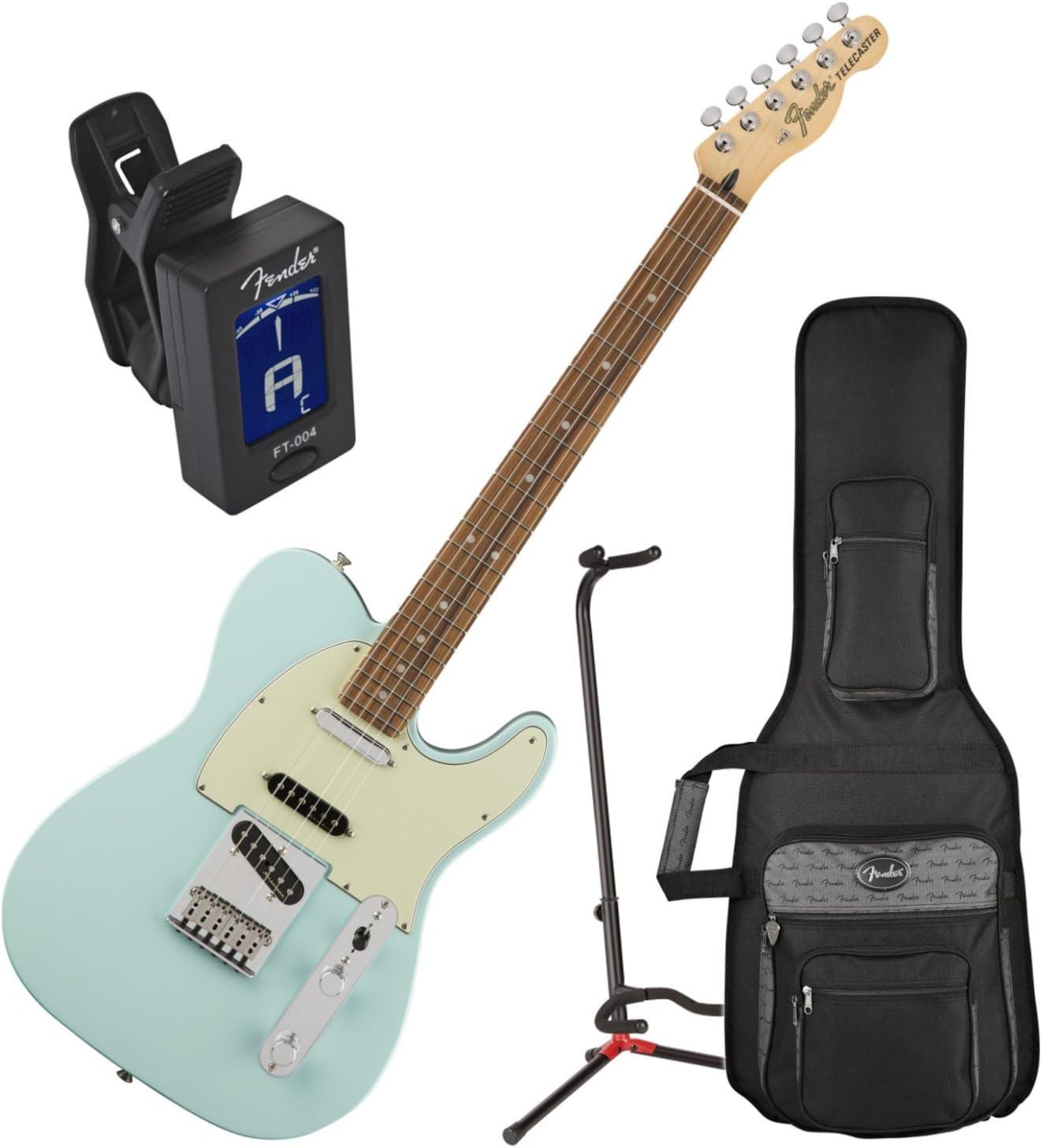 Fender Deluxe Nashville Telecaster guitarra eléctrica Daphne azul ...
