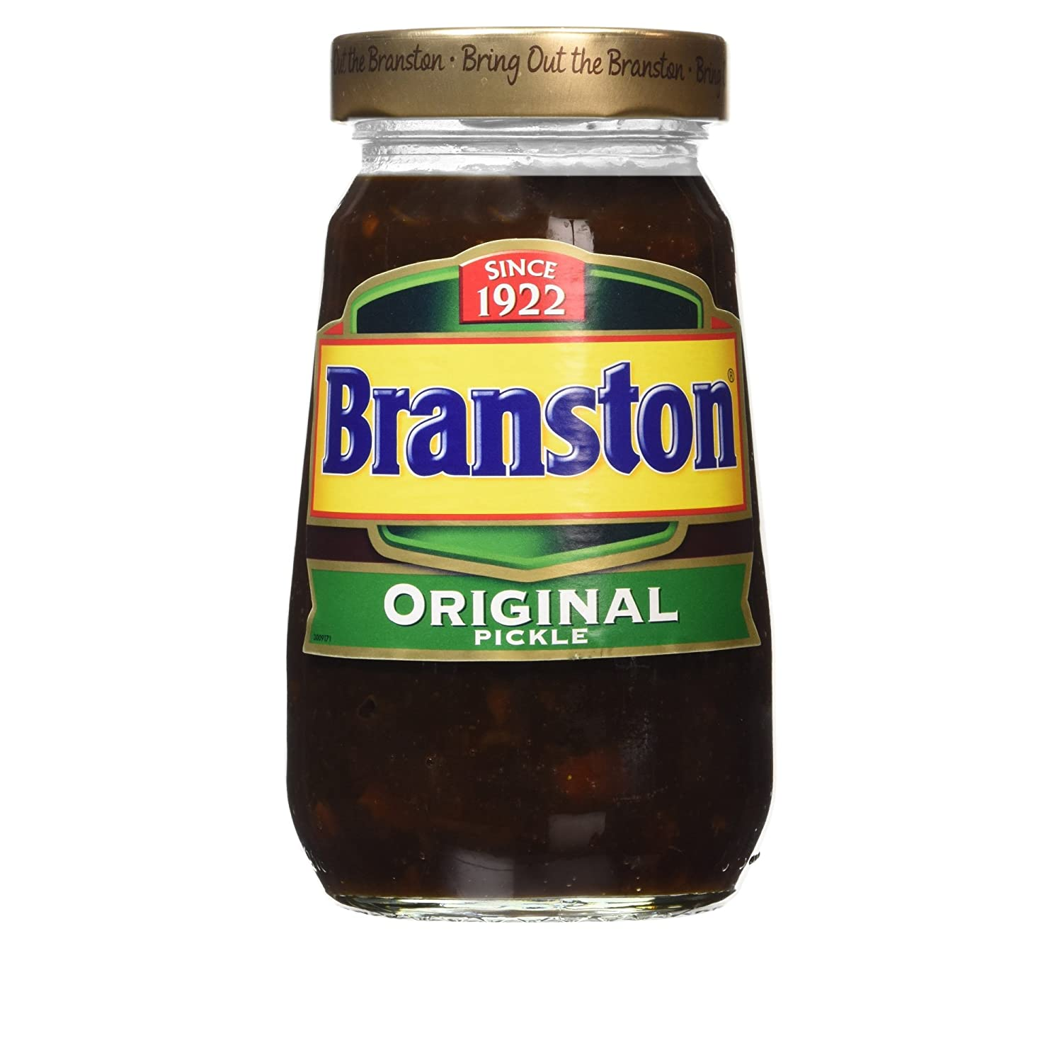 Original Branston Pickle Imported From The UK England The Very Best Of Original British Pickle The Undisputed Leading Brand Of British Pickle Perfect In A Cheese Sandwich Delicious Instantly Recognizable Mixture Of Spice, Sweetness & Crunch