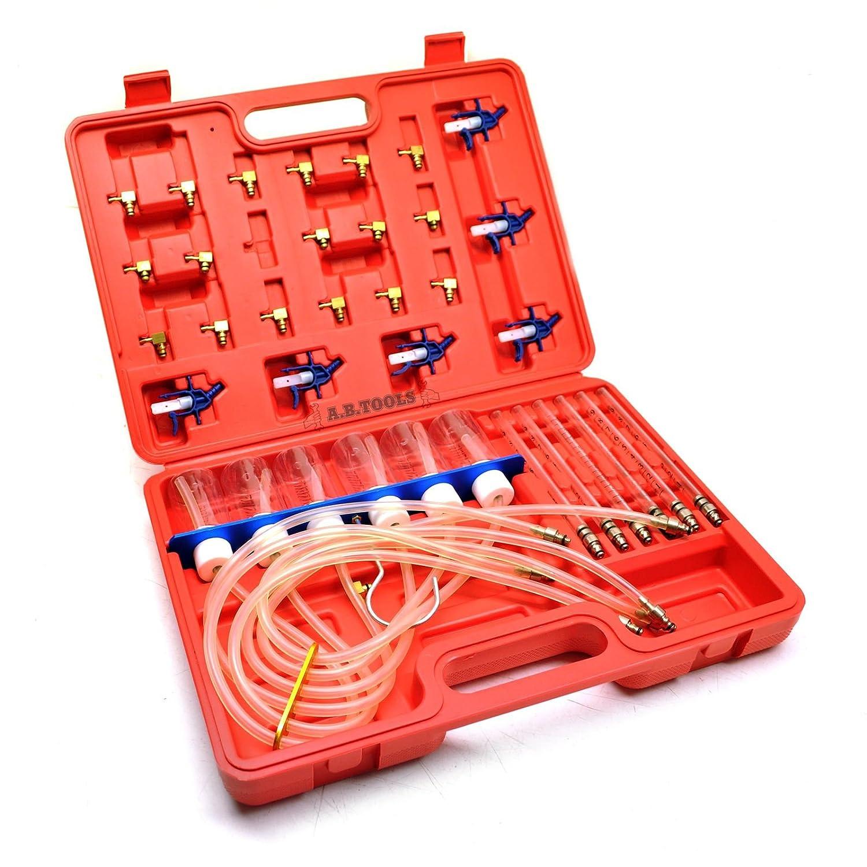 Inyector Delphi Bosch medidor de flujo conjunto de inyector de combustible common rail AB Tools