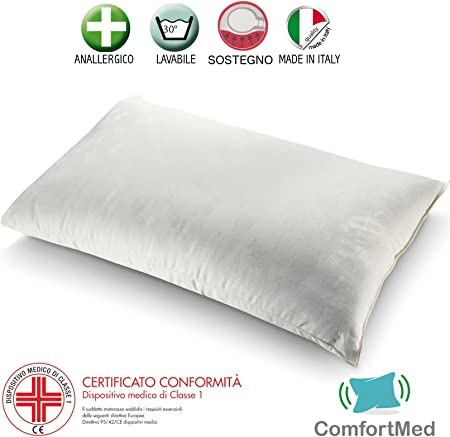 Cuscini Letto Per Cervicale.Comfortmed Cuscino Per Cervicale Ortopedico Guanciale Letto