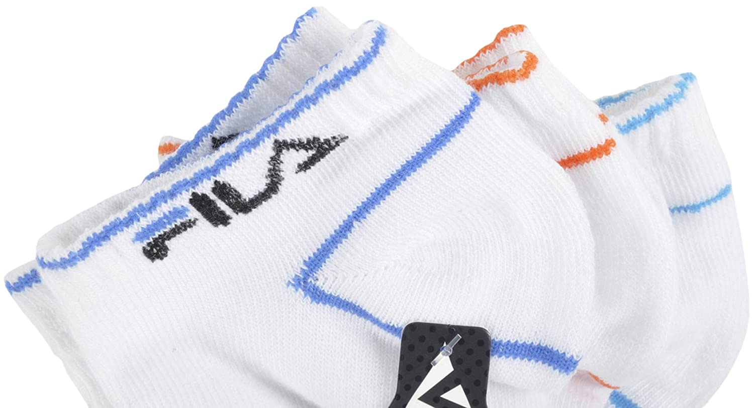 Fila Large Ankle Socks All-Sport Shock Dry 3-Pack in White at Amazon Mens Clothing store: