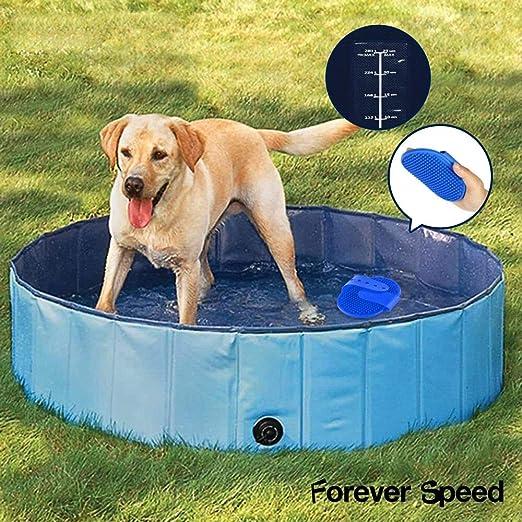 Forever Speed Piscina de Baño Ducha Plegable para Mascota Bañera ...
