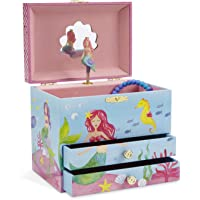 JewelKeeper Large Musical Jewelry Box with 2 Drawers