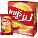 Lay's Chili Potato Chips 23 gm x 14