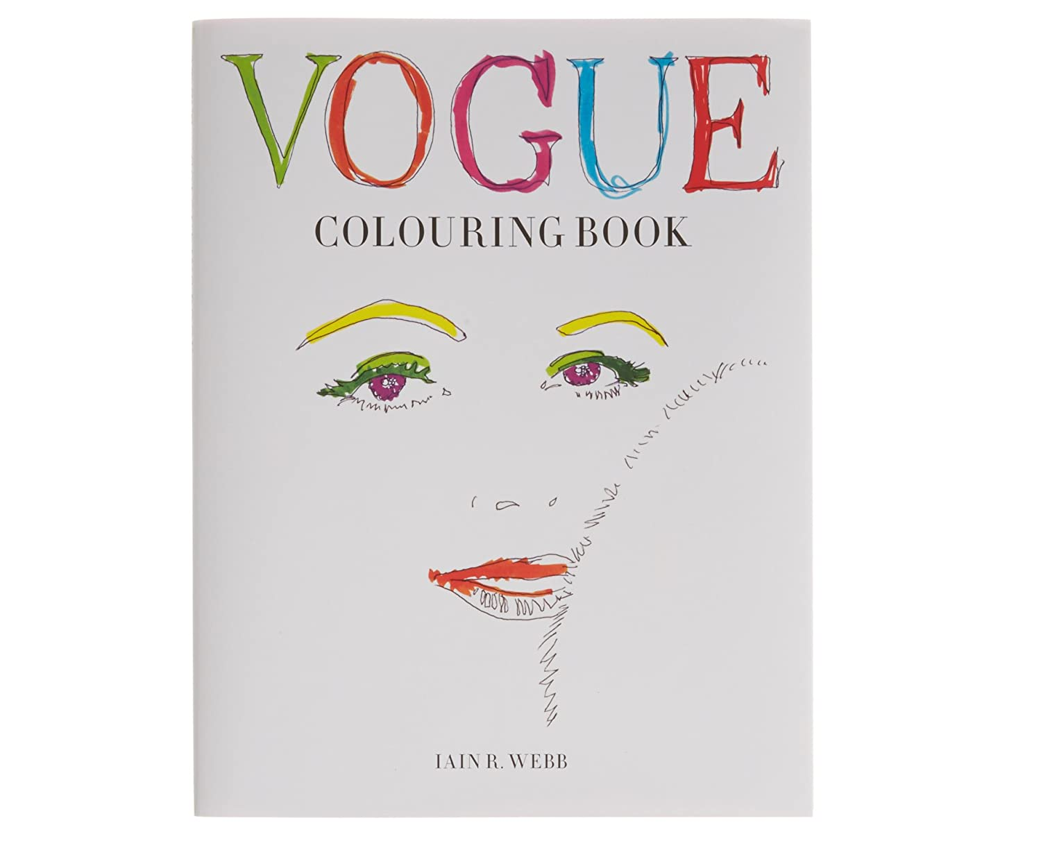 Vogue Colouring Book Amazoncouk Office Products