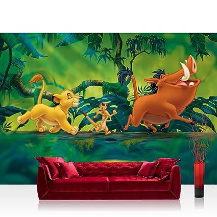 Papel Pintado Fotográfico Premium Plus pared papel pintado fotográfico pintado – cuadro de Disney – El
