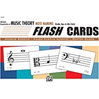 Essentials of Music Theory: Flash Cards (Note Naming)