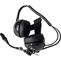 WICOM Carbon Fiber Hybrid Boom Racing Radio Headset