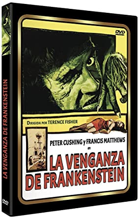 La Venganza De Frankenstein [DVD]: Amazon.es: Peter Cushing ...