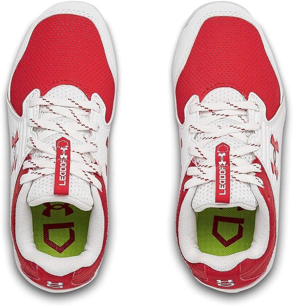 Baseball Shoe Under Armour Kids Leadoff Low Rm Jr