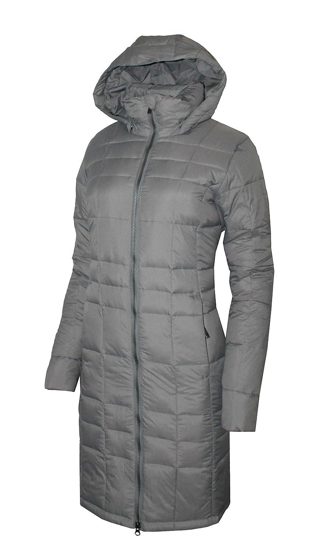 c9cc1f921 Columbia women's Backcountry Blizzard hooded long jacket Omni Heat, Grey