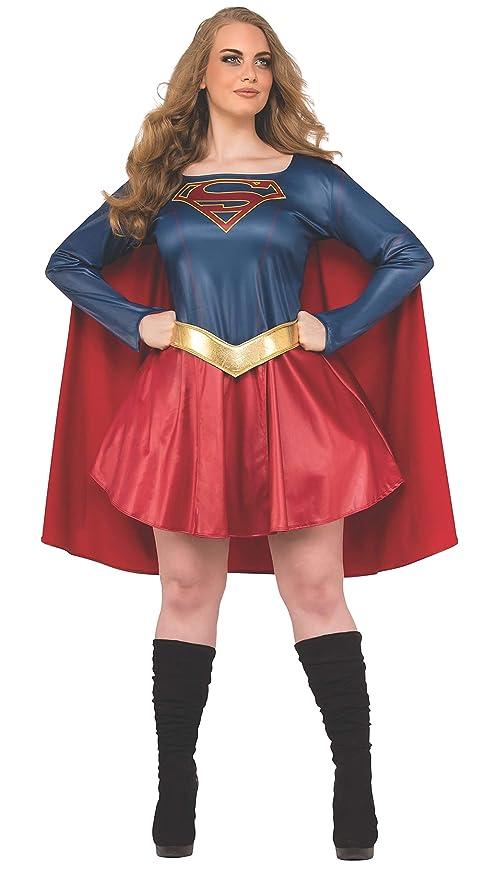 Rubie\u0027s Plus Size Adult Supergirl TV Curvy Costume