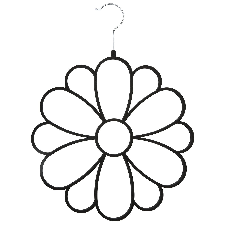 Joy Mangano 1pk Flower Hanger Accessory Purple