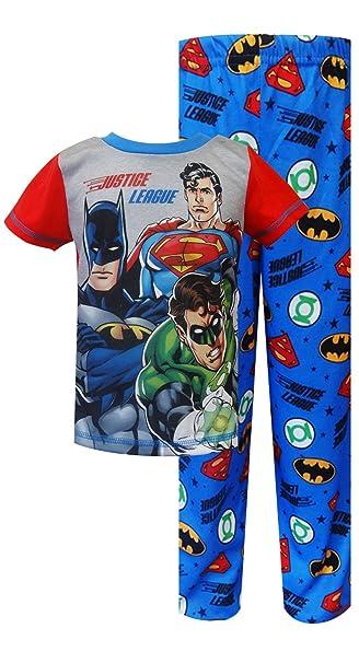 Liga de la justicia sentir el poder Toddler Set de pijama para niños (4T)