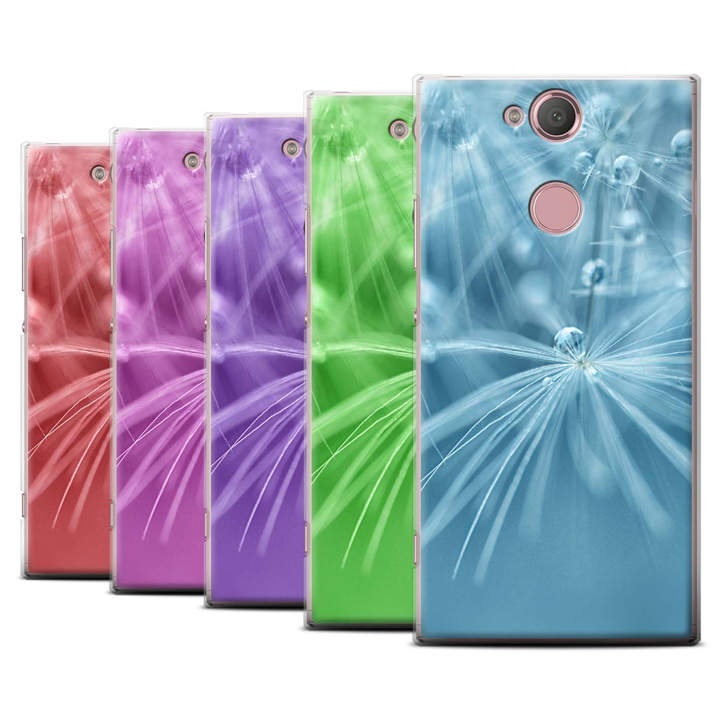 STUFF4 Phone Case/Cover for Sony Xperia L2/Pack (6 pk)/Floral Fairy Drops Collection