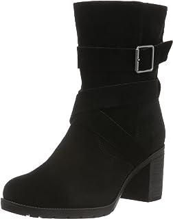 Barley Ray, Bottes Hautes Femme, Noir (Black), 37.5 EUClarks