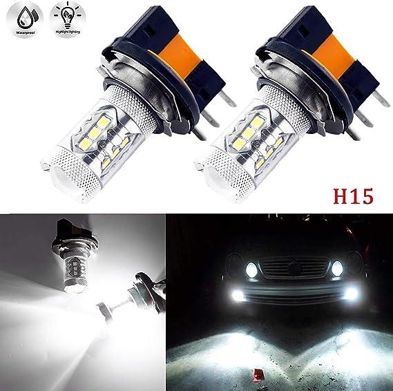 VW Amarok 55w ICE Blue Xenon HID Low//Side Headlight Headlamp Bulbs Set
