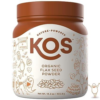 KOS - Polvo orgánico para semillas de lino – Raw, libre de ...