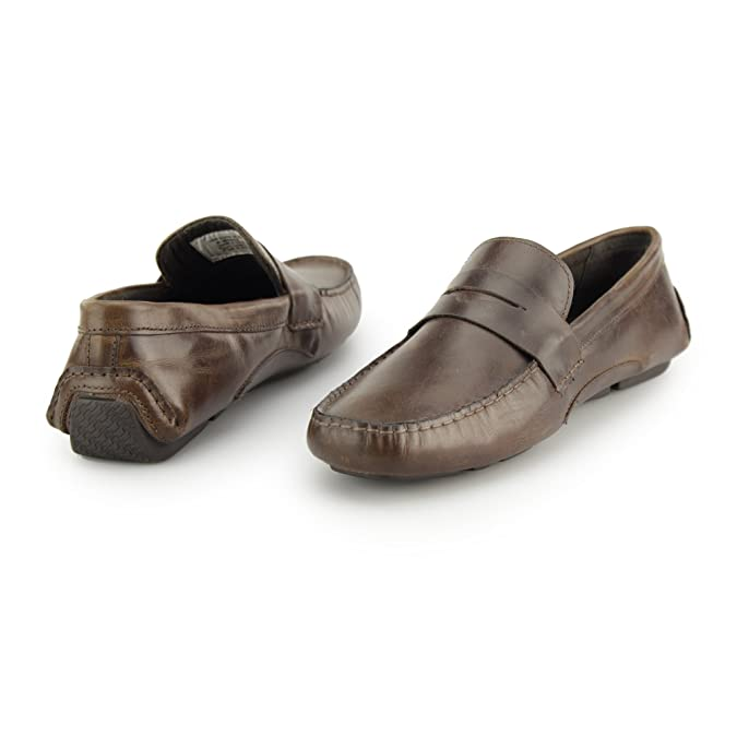 0013d42a138 Red Tape CRANFIELD Mens Leather Driving Loafers Tan UK 9  Amazon.co.uk   Shoes   Bags