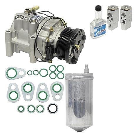 Universal aire acondicionado KT 2028 A/C compresor y Kit de componente