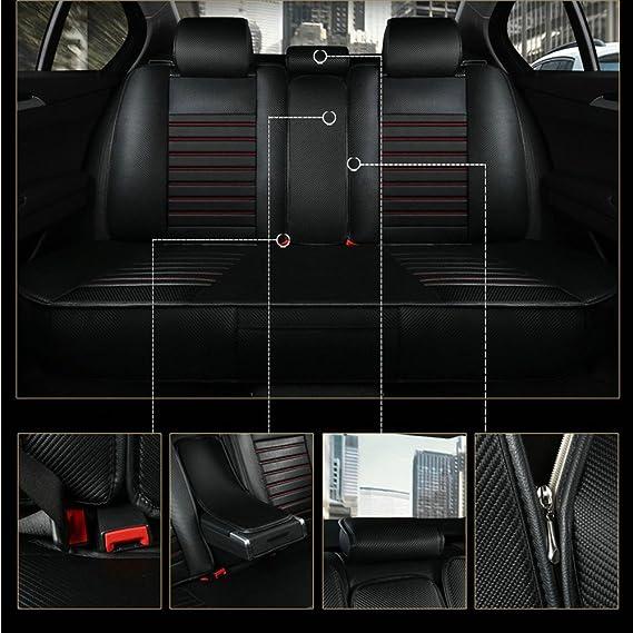 Funda para asiento de coche, fundas para asiento de coche universal, accesorios, interior: Amazon.es: Coche y moto