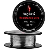 SS316L Wire - 28 AWG Gauge Spools 100