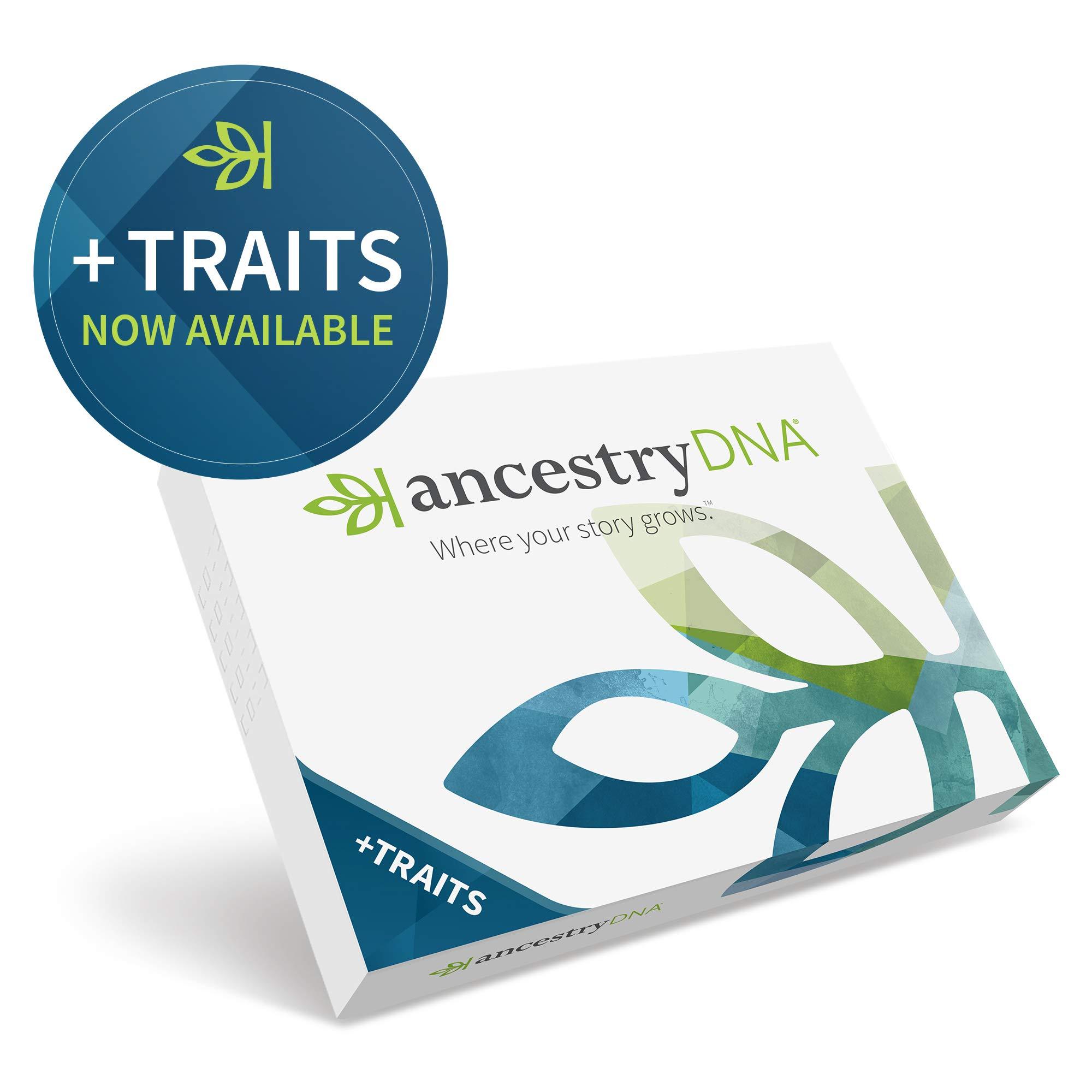 AncestryDNA: Genetic Ethnicity + Traits Test by AncestryDNA