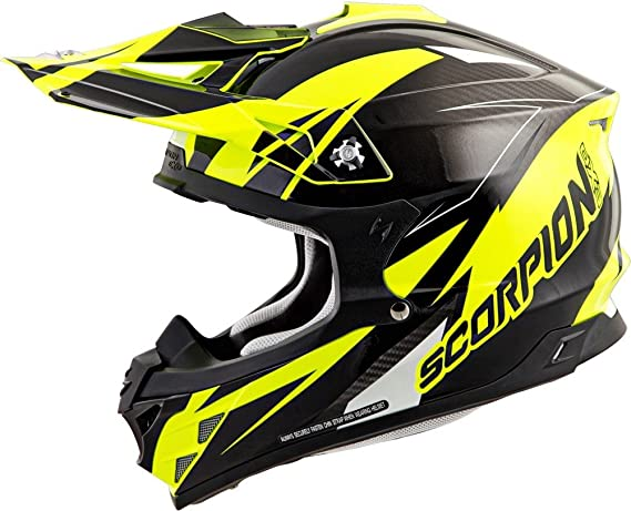 Amazon.com: Scorpion VX-35 Krush Off-Road Motorcycle Helmet (White, Medium): Automotive