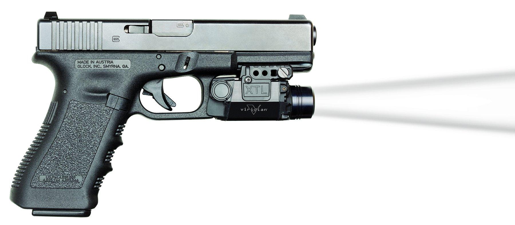 Viridian Universal Mount Tactical Light w/ Strobe (338/418 Lumens) featuring ECR
