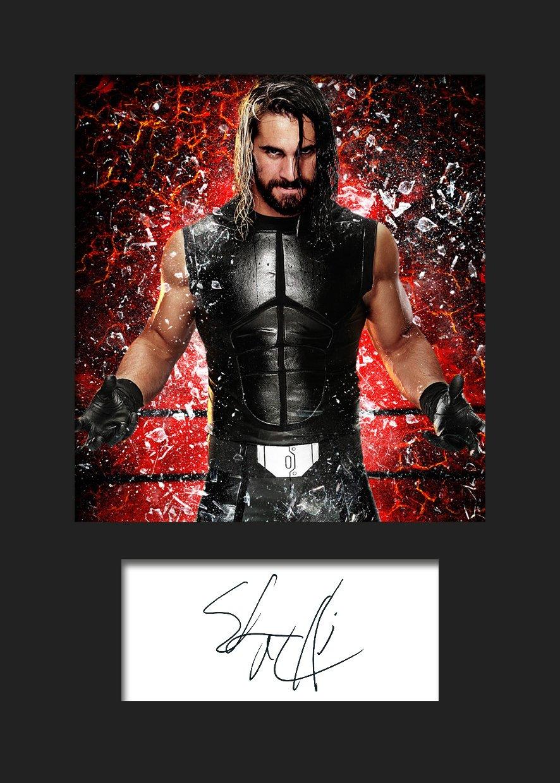 A5 FINN BALOR WWE #3 signiertes Foto