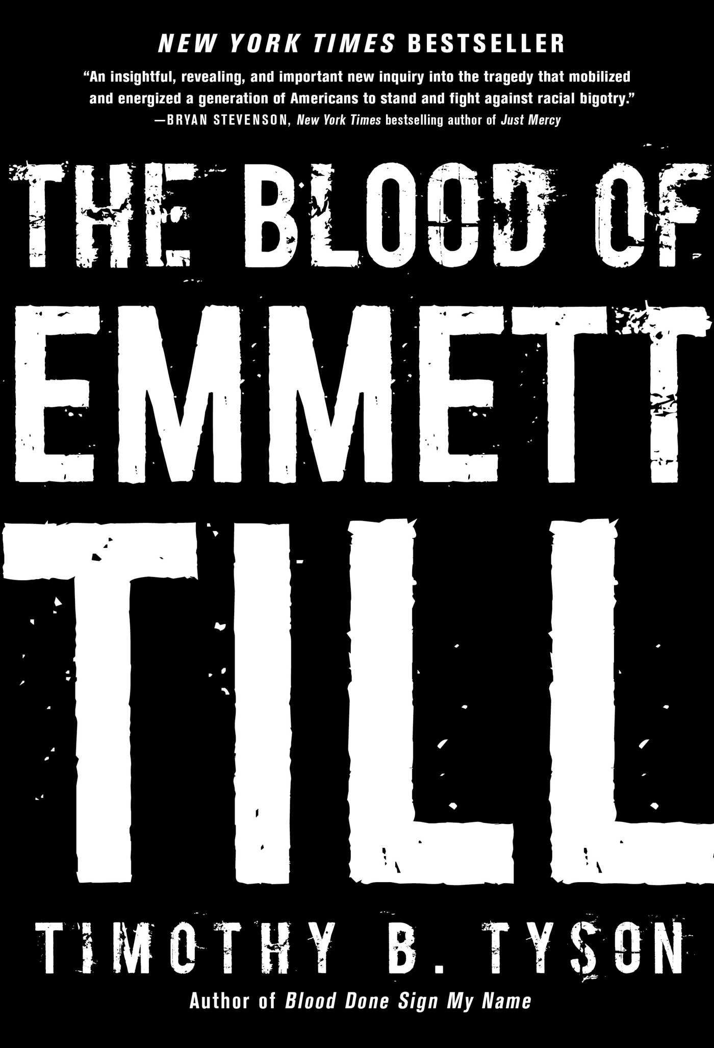 The Blood Of Emmett Till: Timothy B Tyson: 9781476714844: Amazon: Books