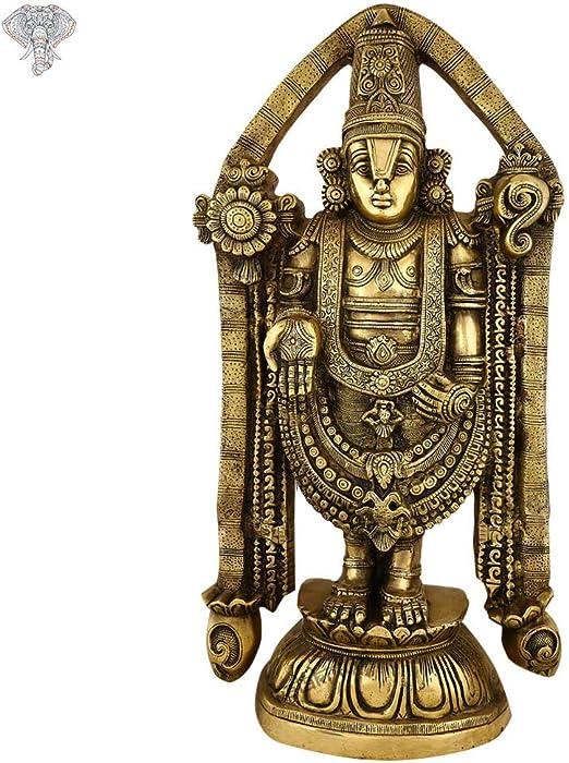 15.2 Inches 3 Tone Colouring Subramanya Statue Kalakrithi Lord Murugan