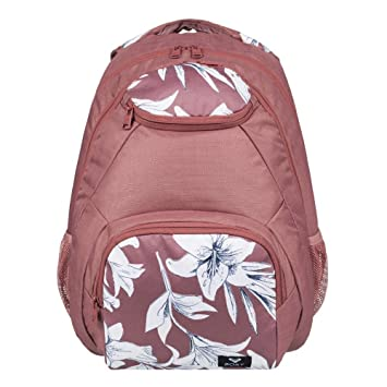 Roxy Shadow Swell Mochila Mediana, Mujer, Azul/Rosa (Withered Rose Lily House), 24 l: Amazon.es: Deportes y aire libre
