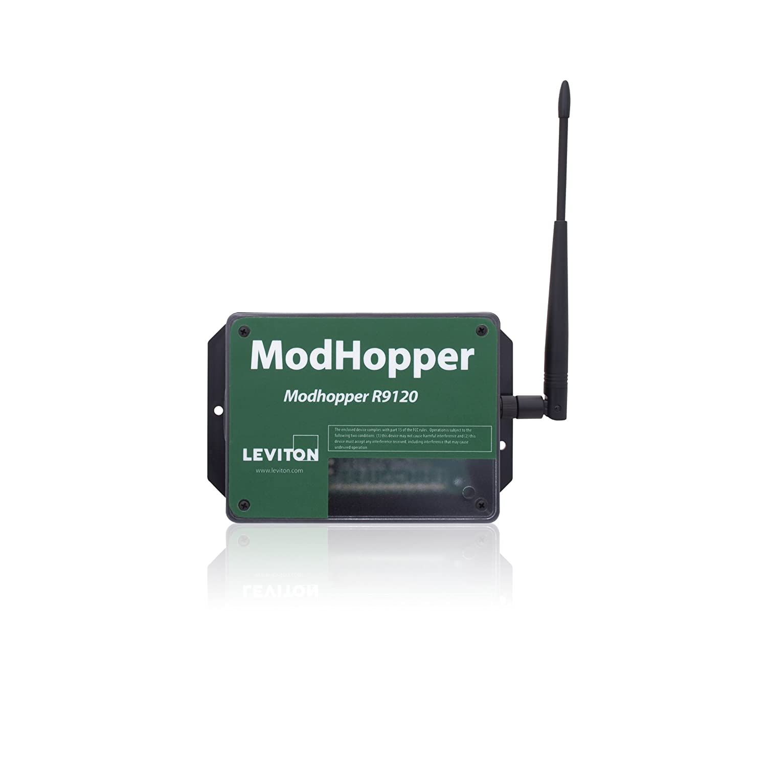 Leviton R9120-500 ModHopper Wireless ModBus/Pulse Receiver ...