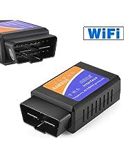 OBD2 Wifi, Bealviy Diagnóstico OBD2, Adaptador Wifi OBD2 ios, OBDII, OBD2 Escáner