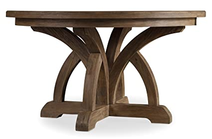 54 round dining table Amazon.  Hooker Furniture Corsica 54