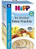 Hipp latte organico di cereali frutta Belle, 4-Pack (4 x 500g)