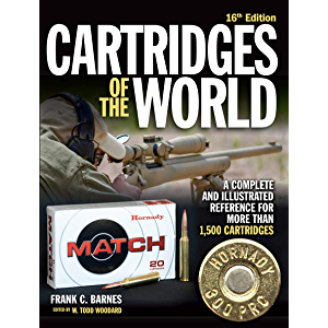 Cartridges of the World, 16th Edition: A Complete and Illustrated Reference for Over 1,500 Cartridges