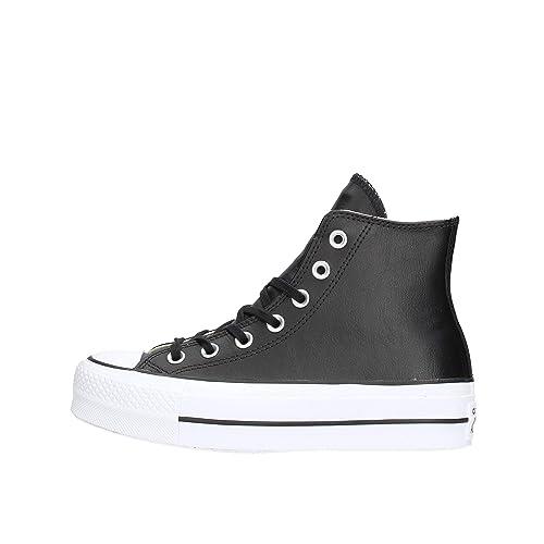 Converse Chuck Taylor all Star Lift Clean High Sneaker Nera