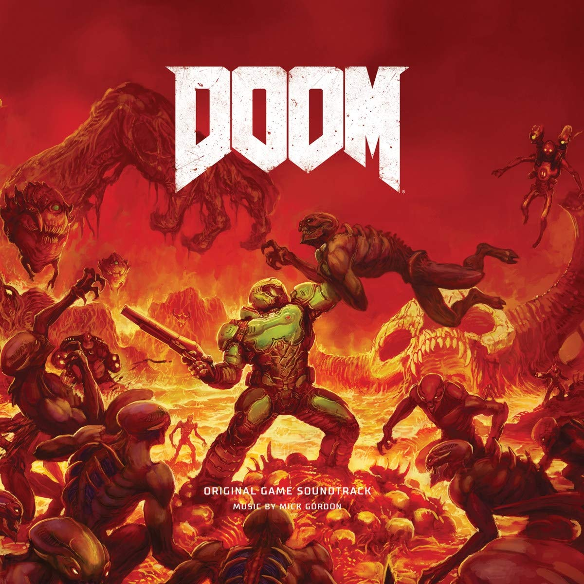 Doom - Game Original Game Soundtrack by LACED RECORDS