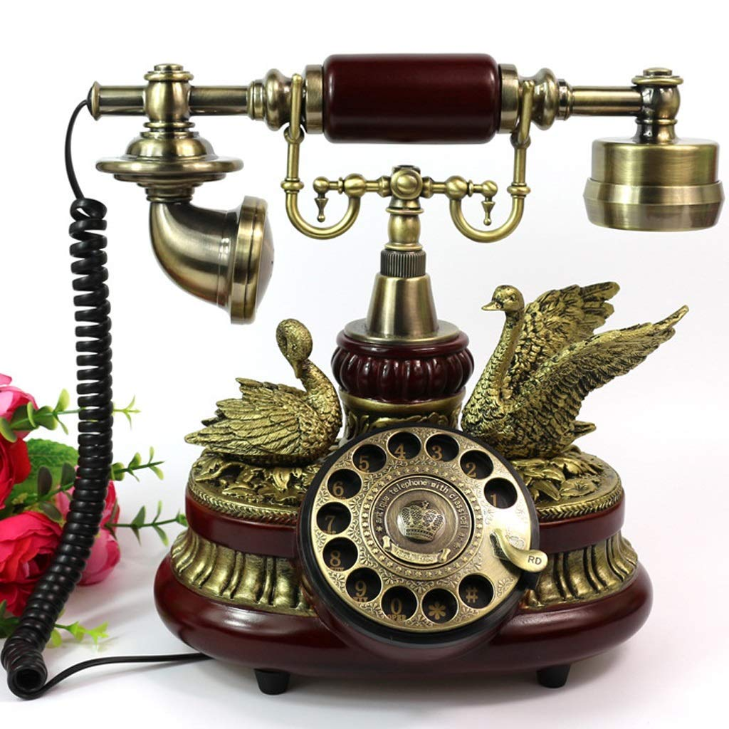 BJYG Tocadiscos Antiguos Antique Retro Phone Vintage Antique ...